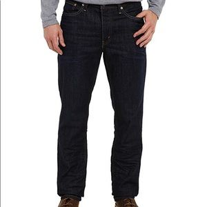 Levi's Athletic Fit Taper Dark Wash Jeans